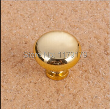 Modern Fashion kitchen cabinet knob shiny gold drawer dresser cupboard bedside table furniture door knobs pulls handles TC402-28 32mm shiny silver drawer cabinet knobs pulls bright chrome dresser door handles modern simple fashion furniture handles pulls