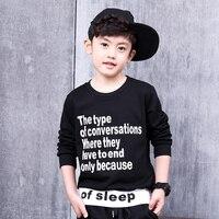 פיוניר בית ספר לילדים ילדי בני אביב סתיו כותנה חולצות ה-t 100% חורף השפל שרוול ארוך ילד ילדי ילדי חולצה חולצות