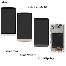 100% Test 5.5 Inch LCD Display for LG G3 LCD Touch Screen Digitizer Assembly for LG G3 Display D850 D851 D855 F460 Replacement