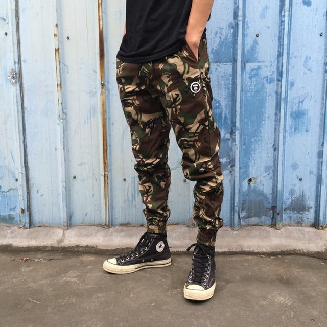 nuovo concetto fd96e 6a579 US $29.2 |Pantaloni die pantaloni gamba fascio uomini bape camouflage  pantaloni hip hop pantaloni pantaloni sportivi casual tuta uomini bape bape  ...