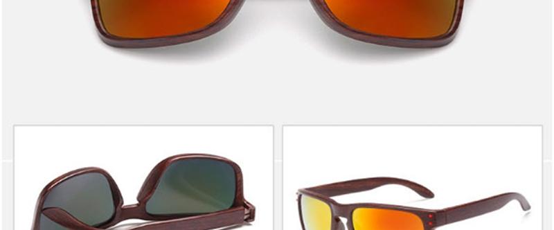 6adb029b6e1 RBRARE 2018 Imitation Wood Grain Sunglasses Women Men Brand Designer ...