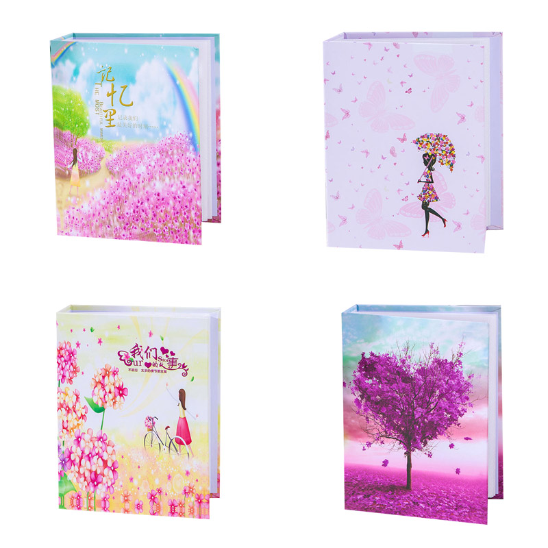 6 inch 100 Pages Pocket Interleaf Type Photo Album Picture Storage Frame image
