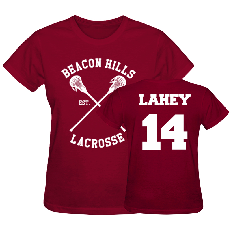 Beacon Hills Lacrosse Hoodie Wolf 24 Teen Stilinski S-2XL