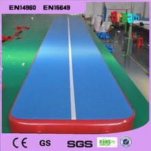 Free Shipping 4*1m Inflatable Air Track for Home UseInflatable Gymnastics Tumbling Trampoline Mat