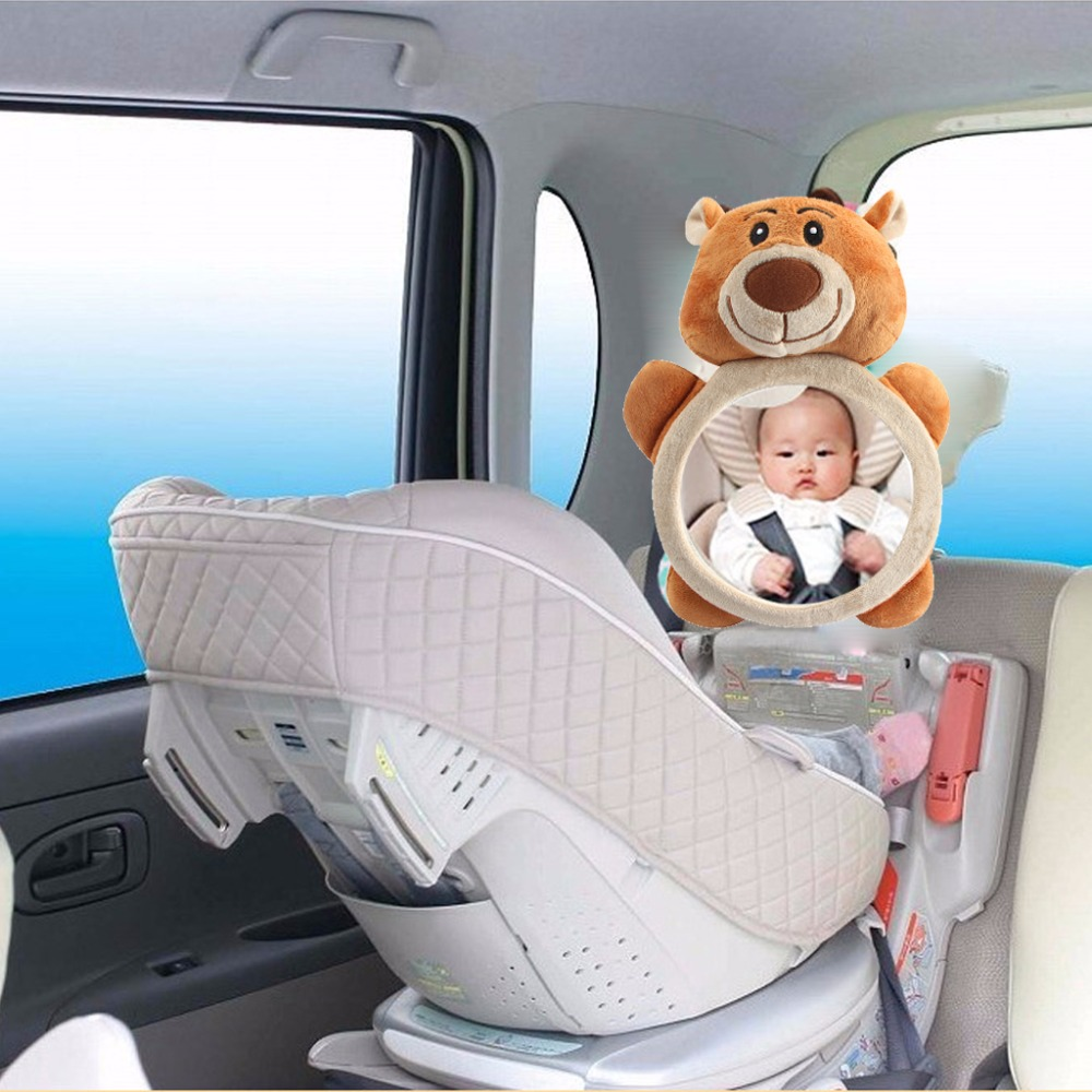 Baby Rear Facing Mirrors Safety Car Back Seat Baby Easy View Mirror Adjustable Useful Cute Infant Monitor For Kids Toddler Child