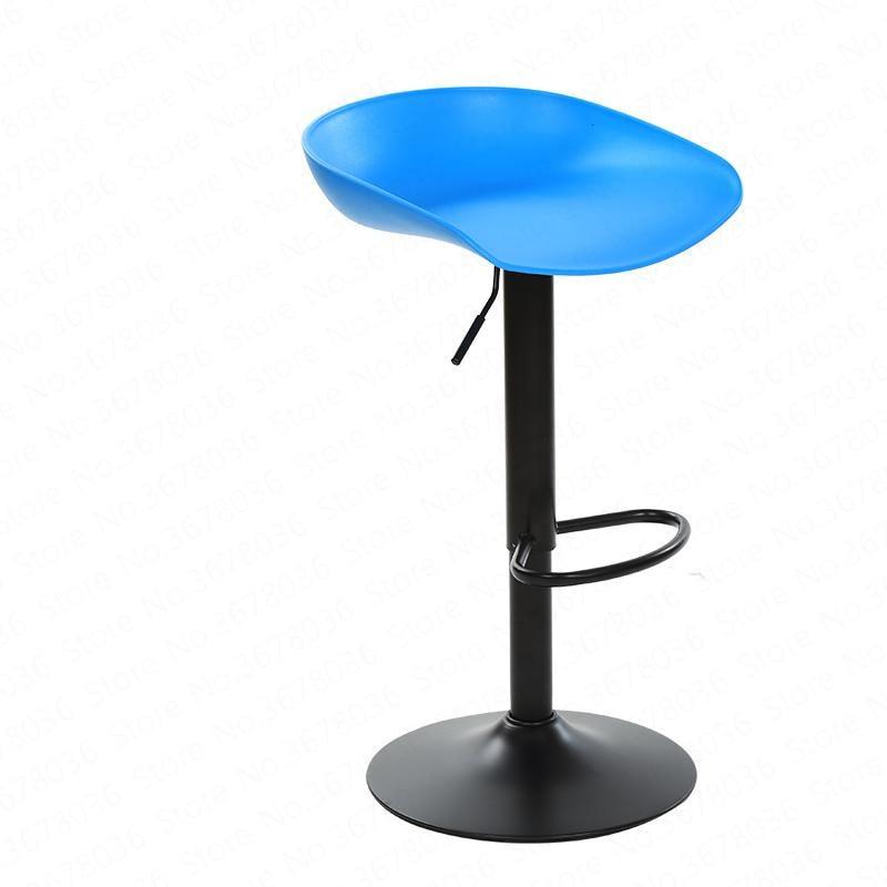 European Fashion Bar Chair Counter Front Mobile Hall Cashier Elevator Retro Modern High Stool Mall Chair Bar Stool Chair