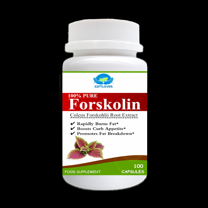 Rapidly Burns Fat,Forskolin Extract,Boosts Curb Appetite,Promotes Fat Breakdown Weight Loss Supplement - 100pcs/bottle