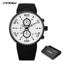 d64a3713af5 Relogio masculino Homens de Pulso de Quartzo SINOBI relógios Militares Da  Marinha Do Exército Esporte Relógios Homem relógio 201.