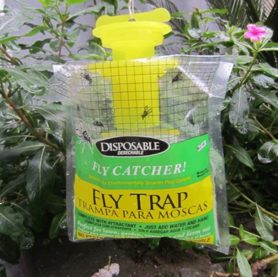 Fly Trap Catcher Bug Mosquito Killer Moth Insect Killer Pest Control Products Disposable Home Garden Outdoor Plastic Hanging BagFly Trap Catcher Bug Mosquito Killer Moth Insect Killer Pest Control Products Disposable Home Garden Outdoor Plastic Hanging Bag
