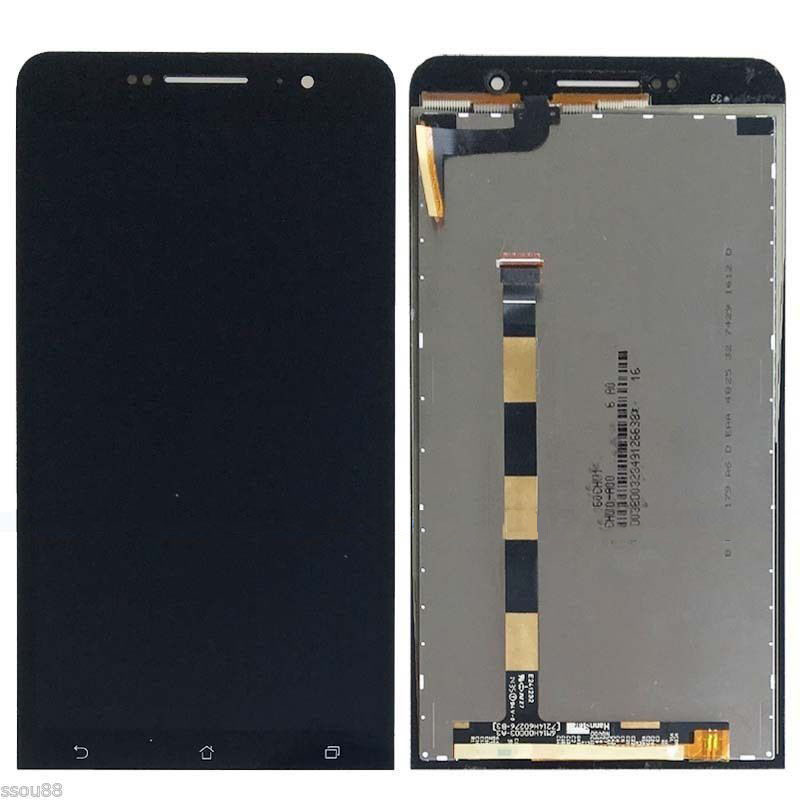 LCD Display Touch Digitizer Screen Glass Assembly For Asus ZenFone 6 A600CG A601CG T00G