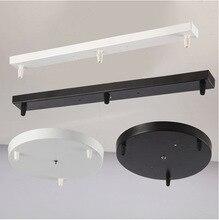 Lampade a sospensione rotonda piastra di base dia 30 centimetri