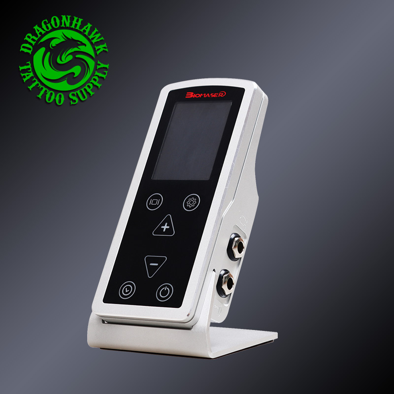 Newest Design High Quality Digital Tattoo Power Supply Professional LCD Tattoo Foot pedal Tattoo Supply цены онлайн