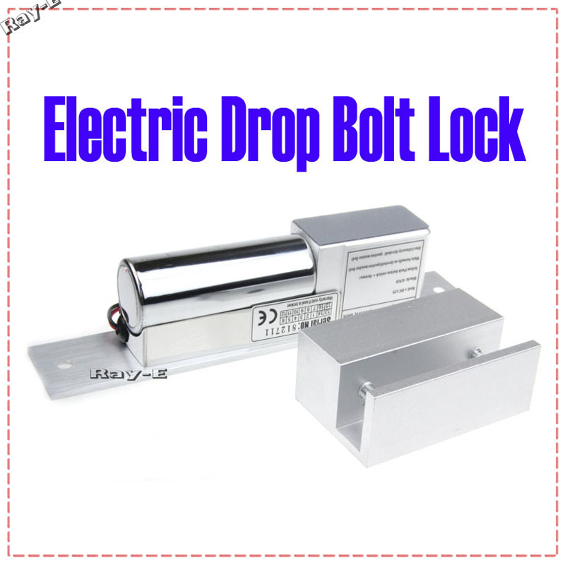 Gl Door Use Electric Drop Bolt Lock Fail Safe 12v Low Hold Brand For Office Holder Free Shipping