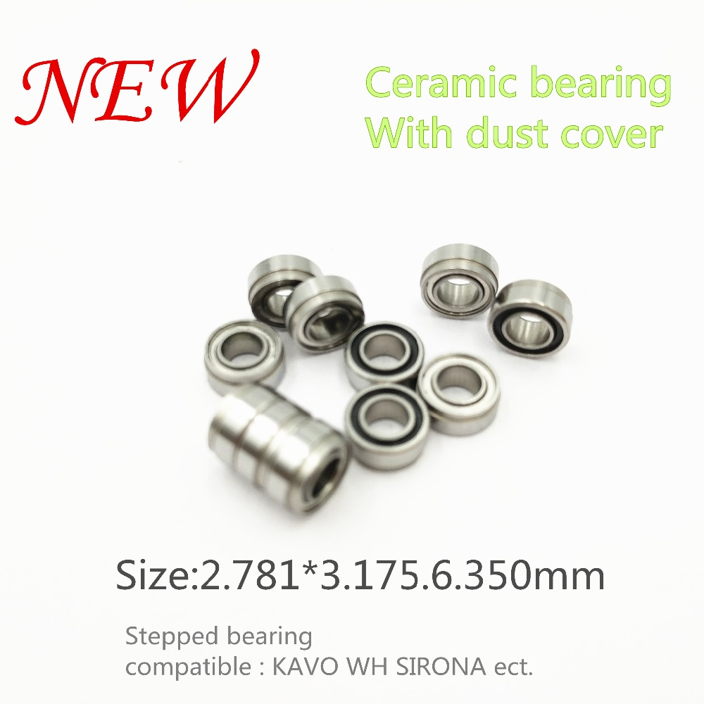 2018 good quality KAVO compatible handpiece bearing dental bearings ceramic balls with dust cover 10pcs stepped bearing подвесной светильник alfa marta 15341
