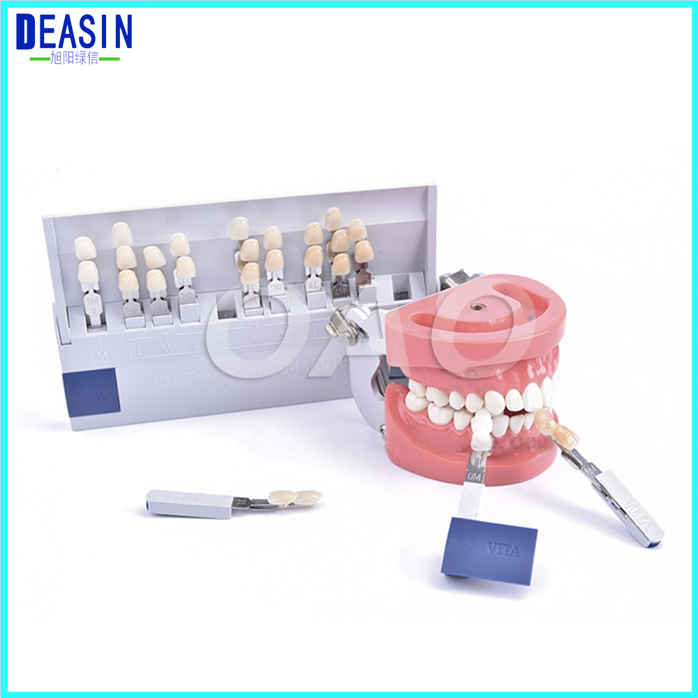 Free 29 Colors 3D shade guide color dental whitening comparator Teeth Whitening Accelerator victorinox stonehide w16 01