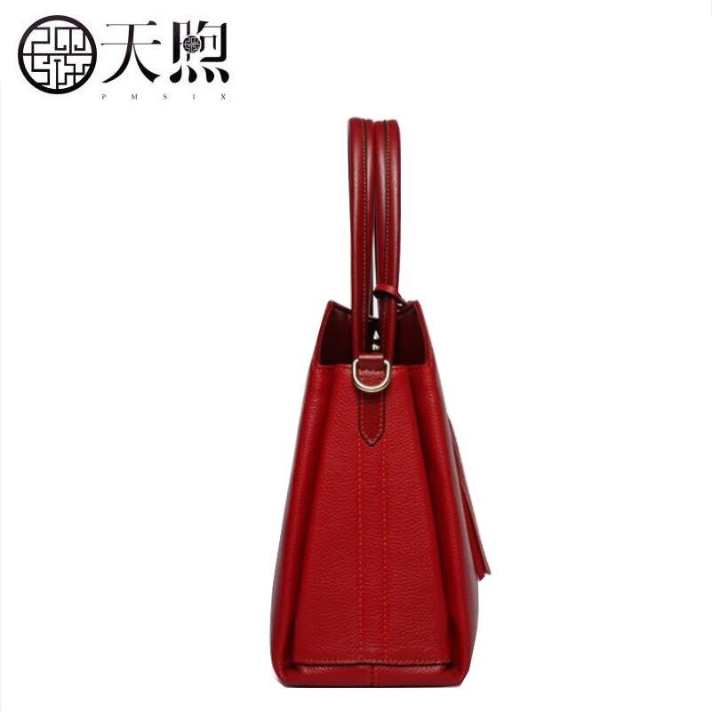 Designer black Nouvelle En 2018 Sacs À Épaule Marque Bag Femme Sac Red Messenger Couche Main Pmsix Cuir Conception WATnF1x1