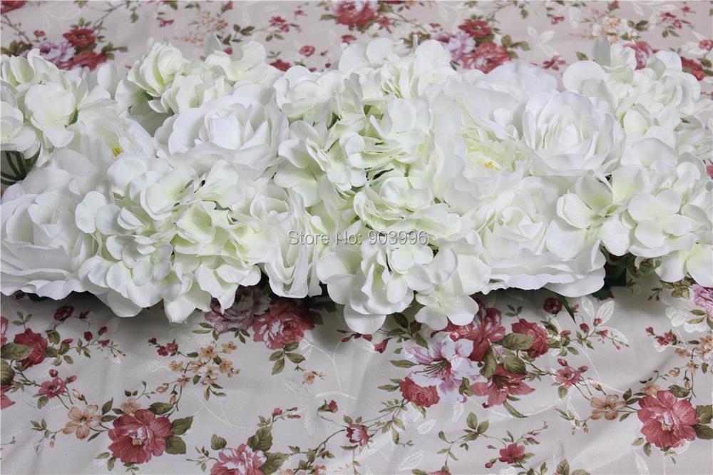 SPR Hoge kwaliteit 10 stks / partij bruiloft bloem muur podium witte - Feestversiering en feestartikelen - Foto 1