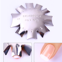 Makeup Palette Silver Stainless Steel  Nail Template Plates 3 Styles Nail Art Stamp Stamping Template Image Plate Stencils