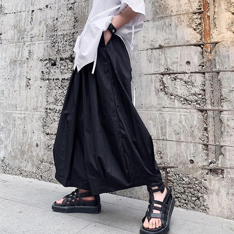 Men s Straight Overalls Pants Fashion Casual Bib Jumpsuits Trousers Male High Streetwear Hip Hop Harem