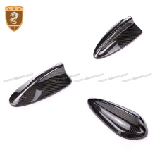 Carbon Fiber Antenna Cover Shark Fin For BMW 1 2 3 5 7 series F10 F11 F18 E90 E92 E60 E61 E46 M5 F01 F02 X1 4 5 6 X5M X6M
