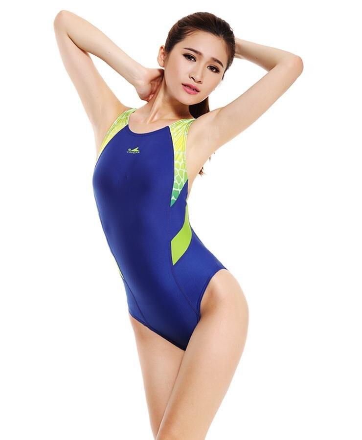 7f511f3ce7 YingFa Women s Professional One Piece Swimsuit Sports Racing Swimwear  Competition Swimsuit Bodybuilding Leotard Plus Size XXXL on Aliexpress.com