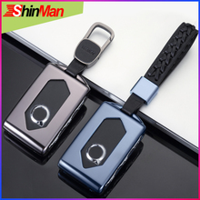 ShinMan High quality Aluminum alloy Key Car key Case Cover For Volvo XC40 XC60 XC90 V90 S90 2018 Keychain Accessories