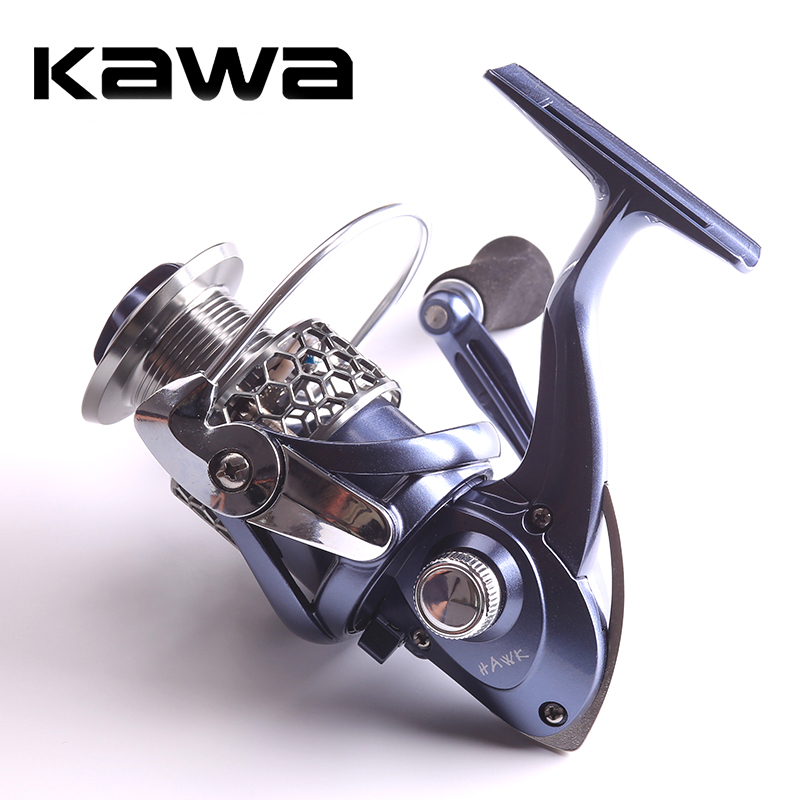 KAWA spinning reel New Product HAWK High Quality 9 Bearing Fishing Reel Spinning Reel Free Shipping цена