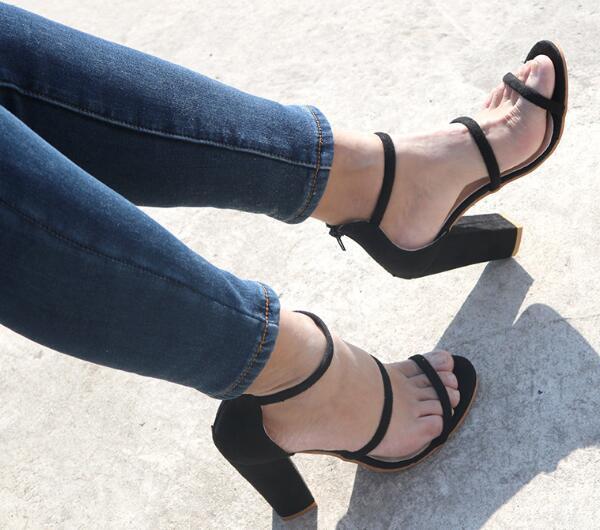 Black Signore Zapatos Fashionchunky Donna Chaussure Mujer Scarpe Sandali Bella Tacchi Pompe Donne C161686 Estate Autunno Femme Red wine Alti Delle qzYTq