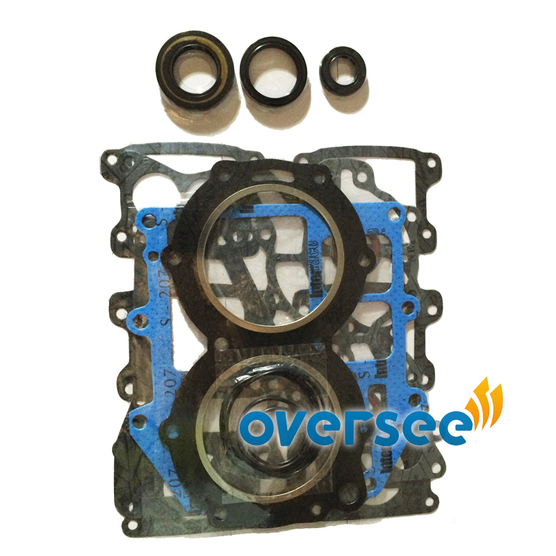 OVERSEE Gasket Kit For fitting Yamaha Ouboard 48HP 55HP 663 W0001 00 00 GASKET Upper Casing