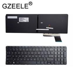 GZEELE nowa angielska klawiatura do HP Envy Touchsmart M6-K seria klawiatura PK130UM2D00 V140902DS1 M6-K015DX 725450-001 laptop czarny