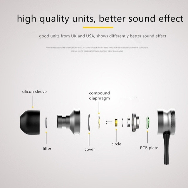 for Samsung iPhone Xiaomi Magnetic Sports earphone Bluetooth Earphone Wireless Stereo with Mic Calls Music Earbuds
