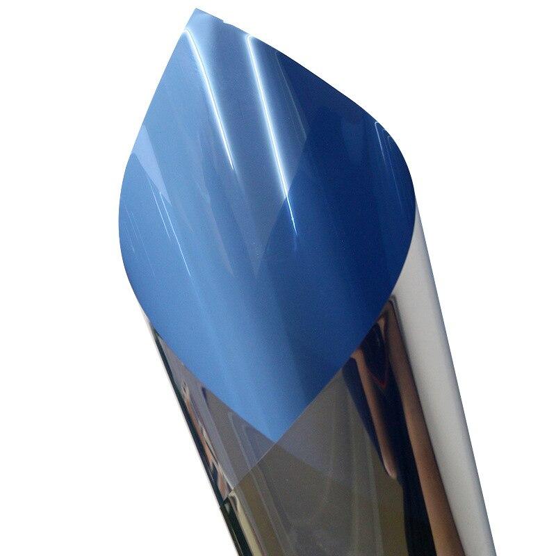 Offre spéciale film de teinte de fenêtre de bâtiment en argent bleu 1.52*30 m