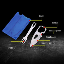 Multi-function Military Card Tool Outdoor Personalized Gift Men