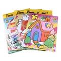 Enviado al azar 9 Colores Niños Colorear Pintura de Arena BRICOLAJE Juguetes de Aprendizaje Juguetes Educativos de Dibujo
