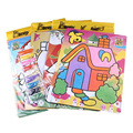 Random Sent 9 Colors Children DIY Sand Painting Coloring Toys Kids Learning Educational Drawing Toys