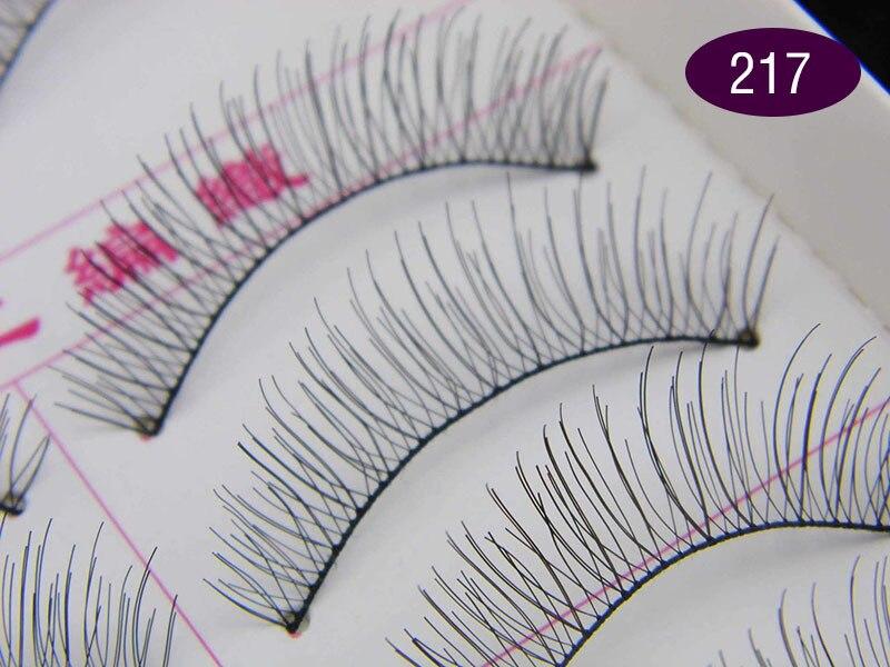 1ce886c9c36 30 Pairs Taiwan handmade false fake eyelashes 217 # wholesale transparent  lines Eyelashes-in False Eyelashes from Beauty & Health on Aliexpress.com  ...