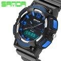 2016 O novo top de luxo da marca homens relógio esportivo G classe moda casual relógios LED digital quartz relógio digital de borracha cinta