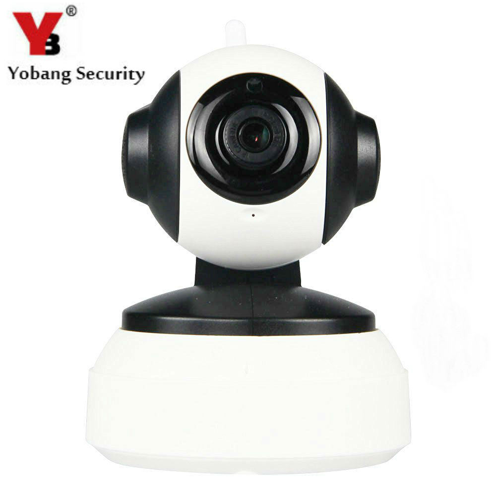 YobangSecurity WiFi Wireless IP Camera 720P Baby Monitor With Motion Detection Alarm Two Way Infrared LINKAGE ALARM SYSTEM escam wifi alarm system 433mhz 1527 motion detection ip camera hd 720p