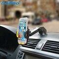 Teléfono móvil Del Montaje Del Coche Holder Soporte Del Soporte 360 Grados de Rotación Universal de Coches Parabrisas Brazo Largo Smartphone Titular de Coches