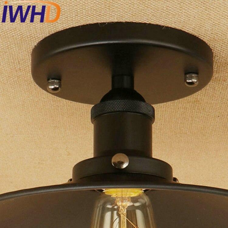 IWHD Edison Loft Style Iron Vintage Ceiling Light Fixtures ...