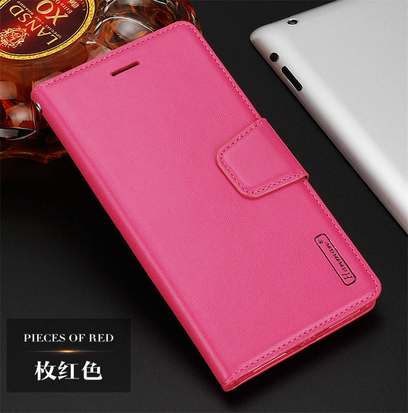 Hanman For Samsung Galaxy J7 Prime Case Luxury Leather Wallet Flip Stand Cover Case For Samsung C9 C9 Pro Case Phone Cases