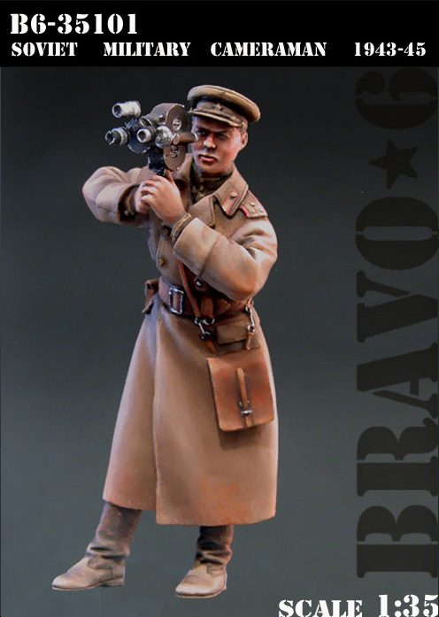 1:35 SOVIET MILITARY CAMERAMAN 1943-45 spade ace 1 35 35011a metal track soviet 2s7