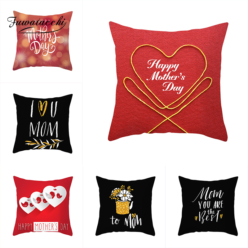 Happy Mothers/' Day Pillow Cases Sofa Cushion Cover Home Decor Pillow Case Gift