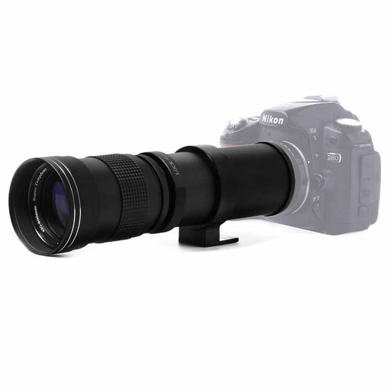 420-800 MM F/8,3-16 Super telefoto Zoom lente para Canon Nikon Sony Pentax DSLR Cámara DHL envío gratis
