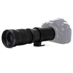 420-800 MM F/8.3-16 Super teleobiektyw zmienoogniskowy do aparatu Canon Nikon Sony Pentax DSLR DHL darmowa wysyłka