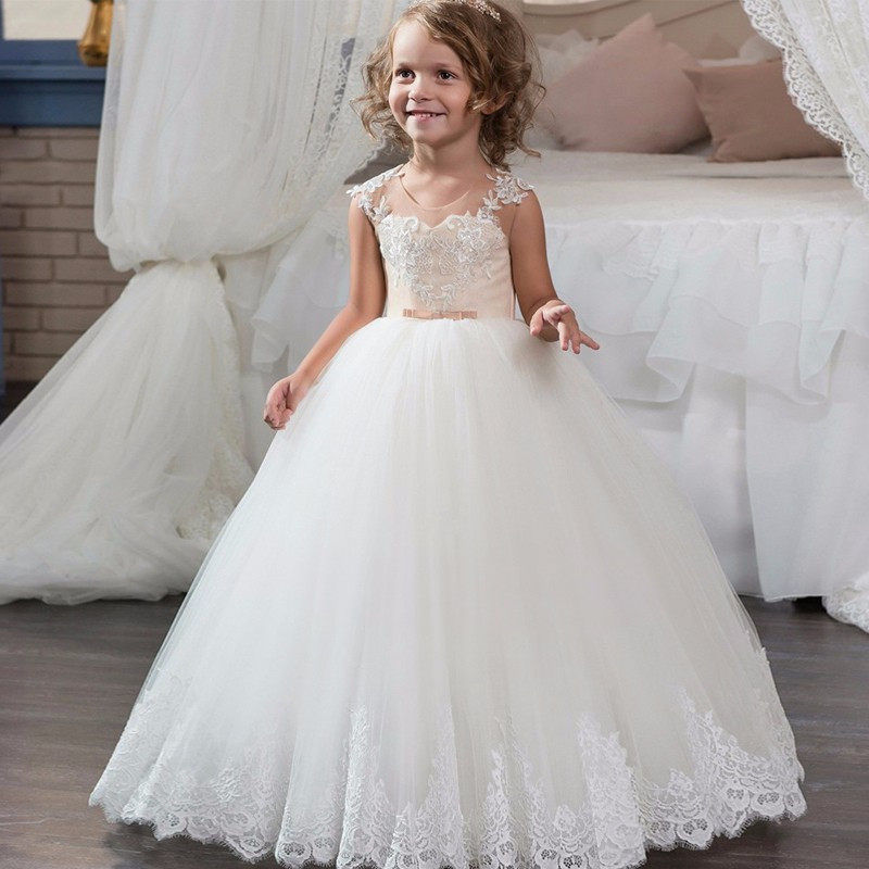 Generous Fashion Red Sequins Tulle Girl Wedding Dress Baby Girl Birthday Party Christmas Dress Beaded Hard Sand Baby Dress Elegant Flower Girl Dresses Wedding Party Dress