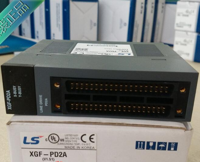 100% New and original  XGF-PD2A  LS(LG)  PLC  Special module  Positioning module 100% new and original xbe dc16a ls lg plc 16 point dc24v input
