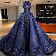 Lowime Sexy Elie Saab Long Arabic Mermaid Party Dress