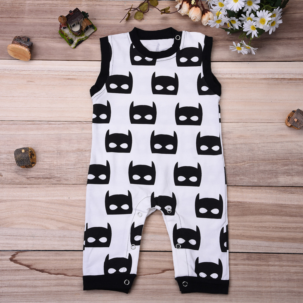 Newborn baby Romper Infant Kids print Sleeveless Romper Baby Boys Girls fashion Outfits Cotton Jumpsuit Clothes 0-24 months cotton infant romper newborn overall kids striped fashion clothes autumn baby rompers boys girls long sleeves jumpsuit