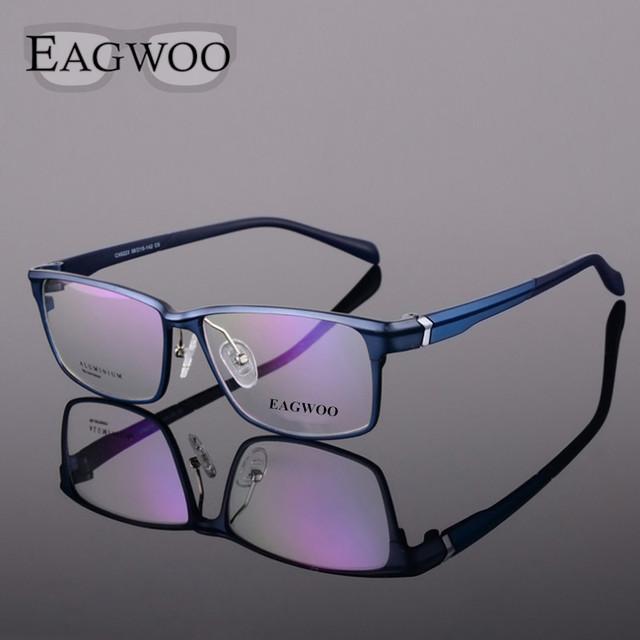 Magnésio Alumínio Óculos Frame Ótico Aro completo Óculos de Miopia Homens Óculos de Prescrição Esportes Grandes Óculos de Leitura 2623